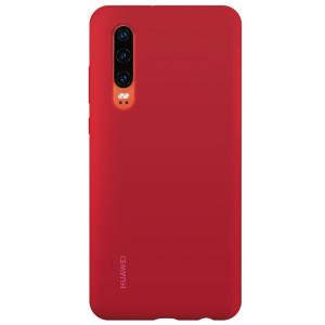 Husa Cover Silicone Huawei pentru Huawei P30 Red