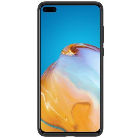 Husa Cover Silicone Huawei pentru Huawei P40 Black