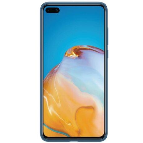 Husa Cover Silicone Huawei pentru Huawei P40 Blue