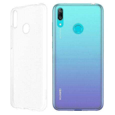 Husa Cover Silicone Huawei pentru Huawei Y6 2019 Clear
