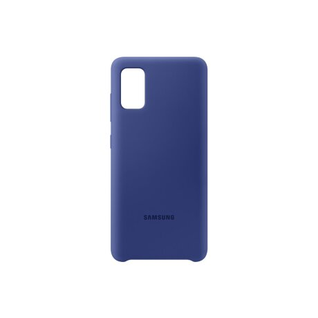 Husa Cover Silicone Samsung pentru Samsung Galaxy A41 Albastru
