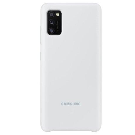 Husa Cover Silicone Samsung pentru Samsung Galaxy A41 White