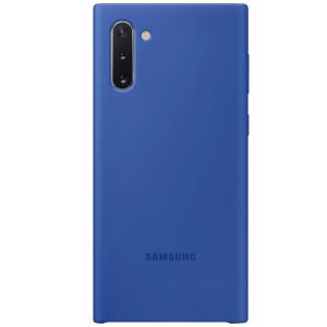 Husa Cover Silicone Samsung pentru Samsung Galaxy Note 10 Albastru