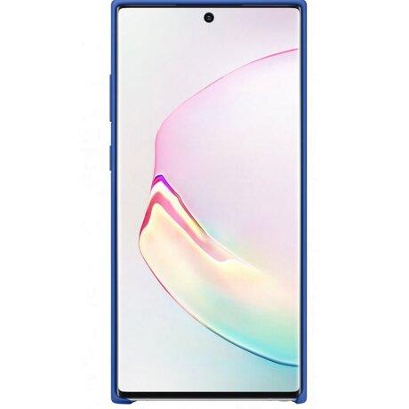 Husa Cover Silicone Samsung pentru Samsung Galaxy Note 10 Plus Albastru