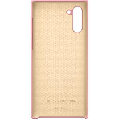Husa Cover Silicone Samsung pentru Samsung Galaxy Note 10 Roz