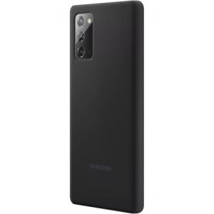 Husa Cover Silicone Samsung pentru Samsung Galaxy Note 20 Negru