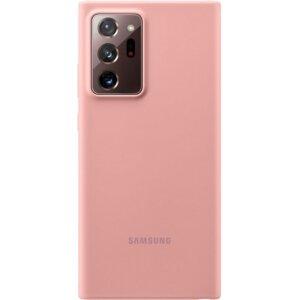 Husa Cover Silicone  Samsung pentru Samsung Galaxy Note 20 Ultra Copper Brown