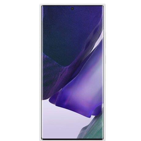 Husa Cover Silicone Samsung pentru Samsung Galaxy Note 20 Ultra White