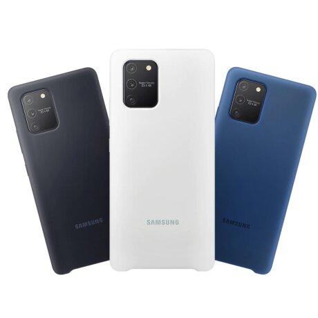 Husa Cover Silicone Samsung pentru Samsung Galaxy S10 Lite Albastru