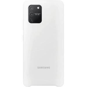 Husa Cover Silicone Samsung pentru Samsung Galaxy S10 Lite White