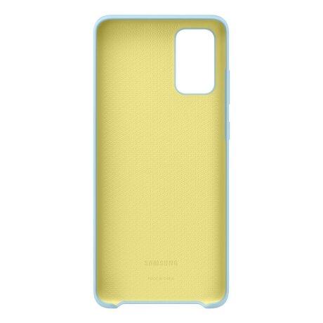 Husa Cover Silicone Samsung pentru Samsung Galaxy S20 Plus Albastru