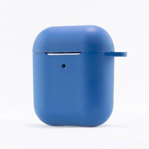 Husa Cover Soft Ksix Eco-Friendly pentru Airpods Albastru