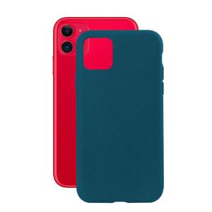 Husa Cover Soft Ksix Eco-Friendly pentru iPhone 11 Albastru