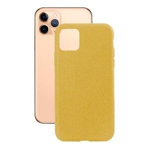 Husa Cover Soft Ksix Eco-Friendly pentru iPhone 11 Pro Galben