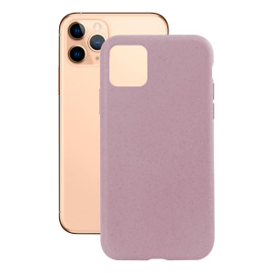 Husa Cover Soft Ksix Eco-Friendly pentru iPhone 11 Pro Roz