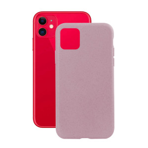 Husa Cover Soft Ksix Eco-Friendly pentru iPhone 11 Roz