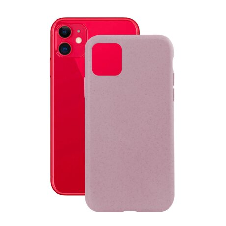 Husa Cover Soft Ksix Eco-Friendly pentru iPhone 11 Roz