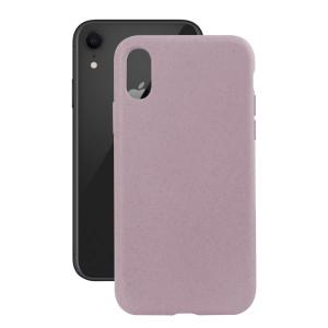 Husa Cover Soft Ksix Eco-Friendly pentru iPhone Xr Roz