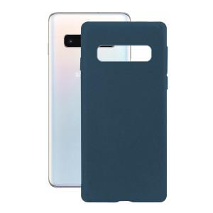 Husa Cover Soft Ksix Eco-Friendly pentru Samsung Galaxy S10 Albastru
