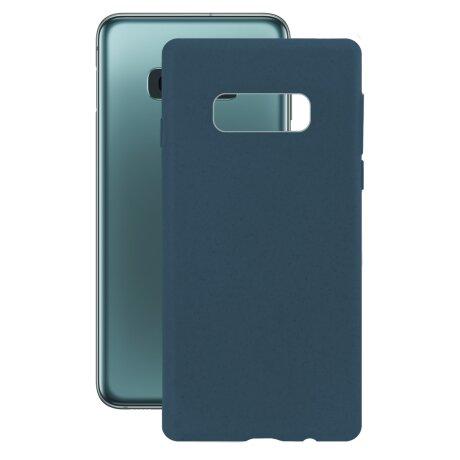 Husa Cover Soft Ksix Eco-Friendly pentru Samsung Galaxy S10e Albastru