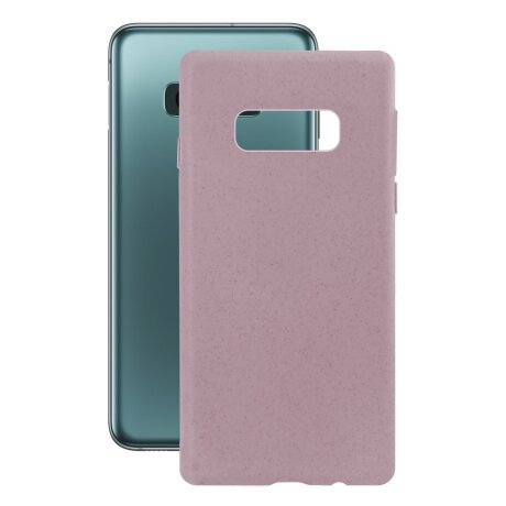 Husa Cover Soft Ksix Eco-Friendly pentru Samsung Galaxy S10e Roz
