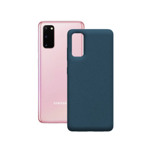 Husa Cover Soft Ksix Eco-Friendly pentru Samsung Galaxy S20 Albastru