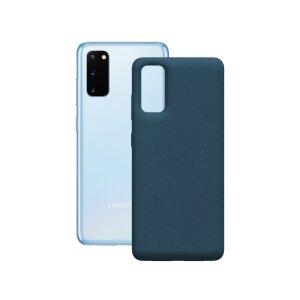 Husa Cover Soft Ksix Eco-Friendly pentru Samsung Galaxy S20 Plus Albastru