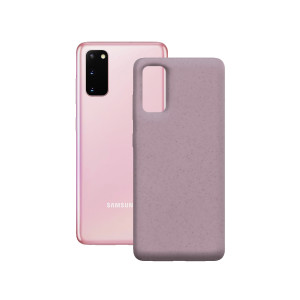 Husa Cover Soft Ksix Eco-Friendly pentru Samsung Galaxy S20 Roz