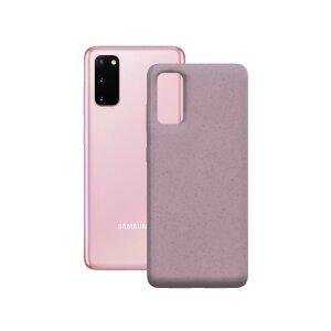 Husa Cover Soft Ksix Eco-Friendly pentru Samsung Galaxy S20 Roz