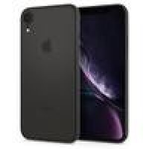 Husa Cover Spigen AirSkin pentru iPhone XR Black