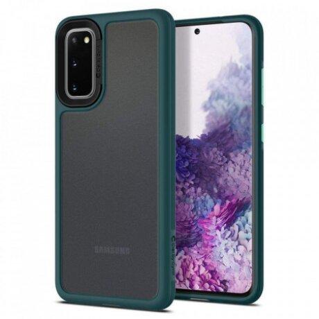 Husa Cover Spigen Ciel Color Brick pentru Samsung Galaxy S20 Green