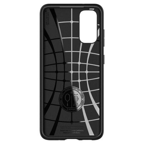 Husa Cover Spigen Core Armor pentru Samsung Galaxy S20 Negru
