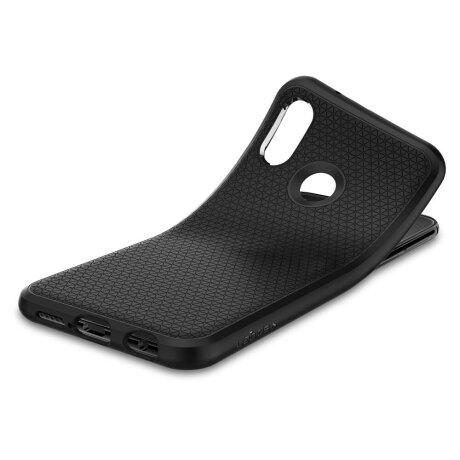 Husa Cover Spigen Liquid Air pentru Huawei P20 Lite Matte Black