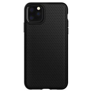 Husa Cover Spigen Liquid Air pentru iPhone 11 Matte Negru