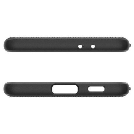 Husa Cover Spigen Liquid Air pentru Samsung Galaxy S21 Plus Matte Black