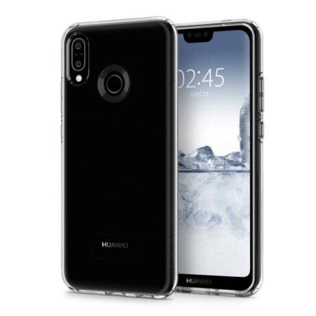 Husa Cover Spigen Liquid Crystal pentru Huawei P20 Lite Clear