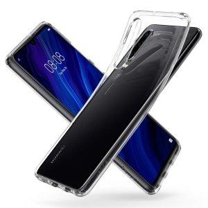 Husa Cover Spigen Liquid Crystal pentru Huawei P30 Clear