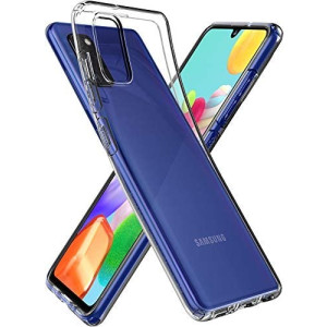 Husa Cover Spigen Liquid Crystal pentru Samsung Galaxy A41 Clear