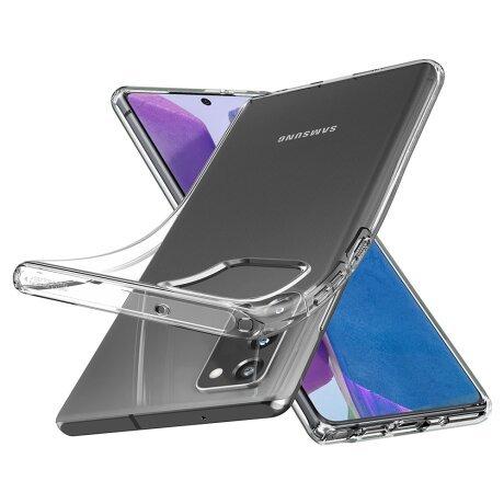 Husa Cover Spigen Liquid Crystal pentru Samsung Galaxy Note 20 Clear
