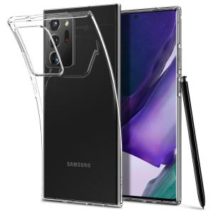 Husa Cover Spigen Liquid Crystal pentru Samsung Galaxy Note 20 Ultra Clear