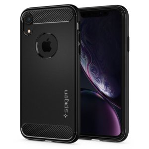 Husa Cover Spigen Rugged Armor pentru iPhone XR Matte Black