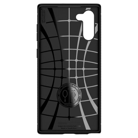 Husa Cover Spigen Rugged Armor pentru Samsung Galaxy Note 10 Matte Black