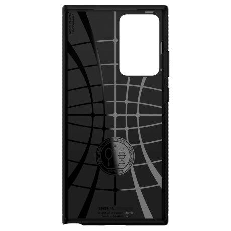 Husa Cover Spigen Rugged Armor pentru Samsung Galaxy Note 20 Ultra Matte Black