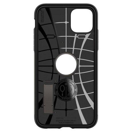 Husa Cover Spigen Slim Armor pentru iPhone 11 Pro Max Gunmetal Gri