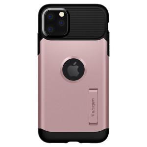 Husa Cover Spigen Slim Armor pentru iPhone 11 Pro Rose Gold