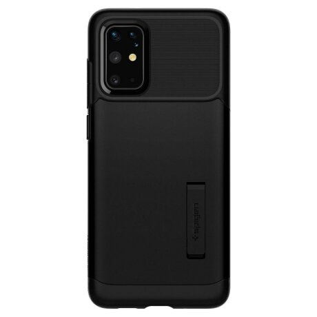Husa Cover Spigen Slim Armor pentru Samsung Galaxy S20 Plus Black