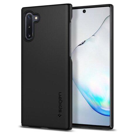 Husa Cover Spigen Thin Fit pentru Samsung Galaxy Note 10 Black