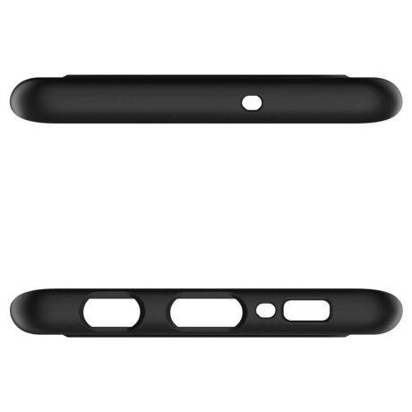 Husa Cover Spigen Thin Fit pentru Samsung Galaxy S10 Black