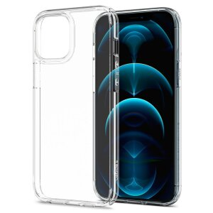Husa Cover Spigen Ultra Hybrid pentru iPhone 12 Pro Max Crystal Clear