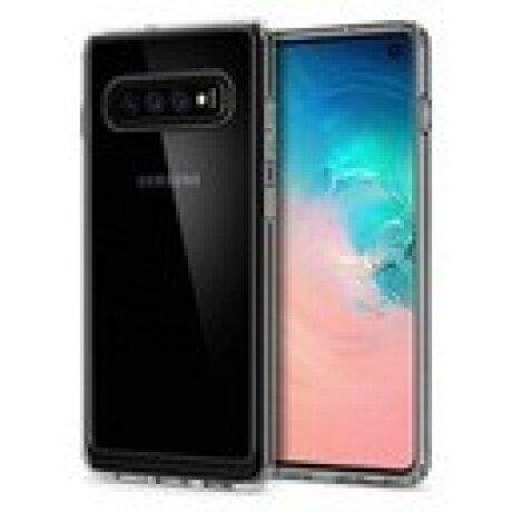 Husa Cover Spigen Ultra Hybrid pentru Samsung Galaxy S10 Crystal Clear